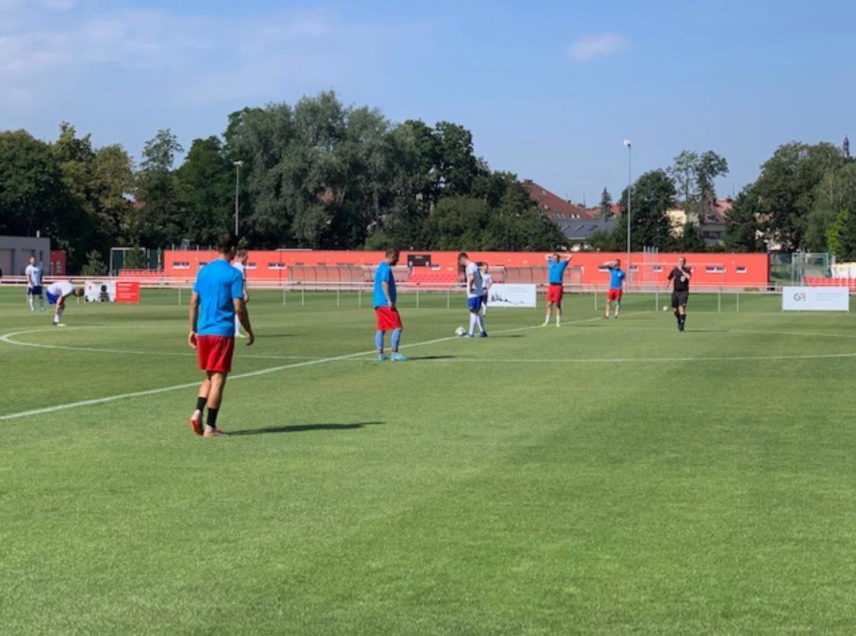 Slavia zvládla i druhý zápas a porazila Týniště