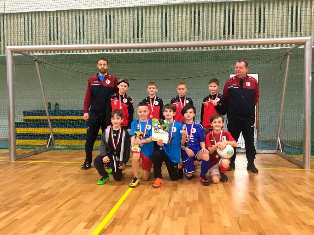 Turnaj Slávisťáček – 1. místo
